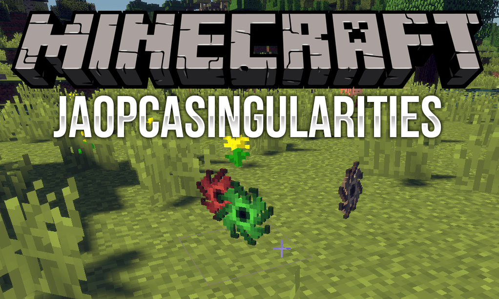 JAOPCASingularities mod for minecraft logo