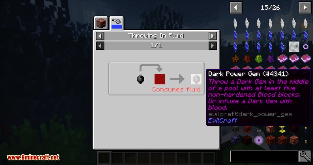 Just Enough Throwing In Fluids mod for minecraft 09