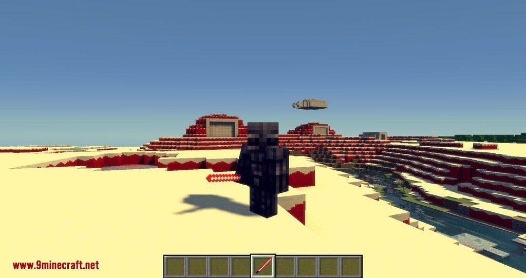 Luke_s Starwars Galaxies mod for minecraft 11