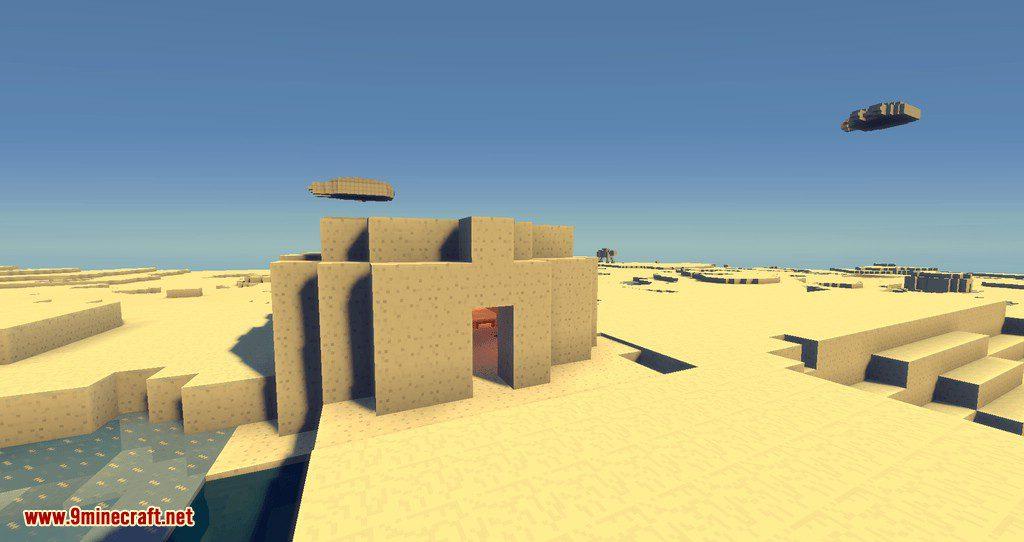 Luke_s Starwars Galaxies mod for minecraft 14