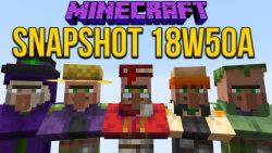 Minecraft 1.14 Snapshot 18w50a