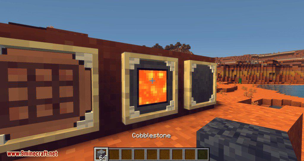 Modular Item Frame mod for minecraft 03