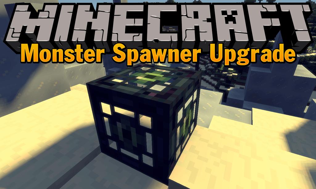 Monster Spawner Upgrade mod for minecraft logo