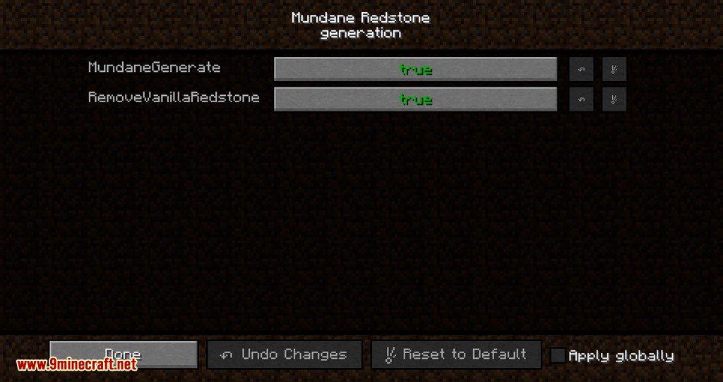 Mundane Redstone mod for minecraft 10
