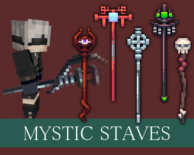 Mystic Staves Resource Pack