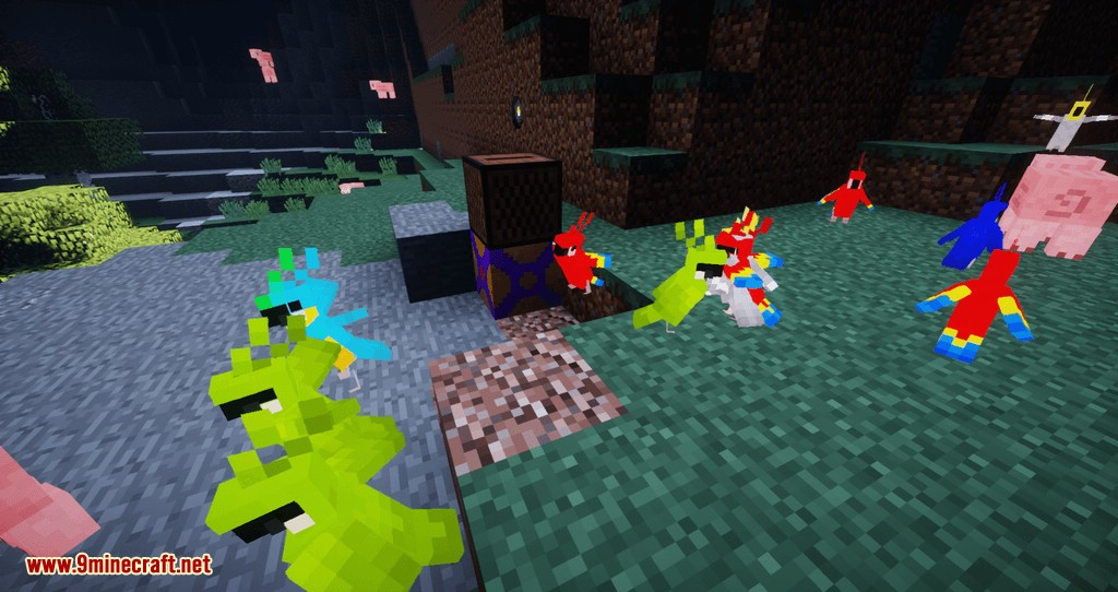 Parrot Power mod for minecraft 06