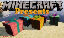 Presents mod for minecraft logo