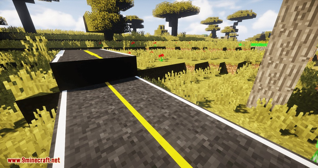 RoadWorks Reborn mod for minecraft 02
