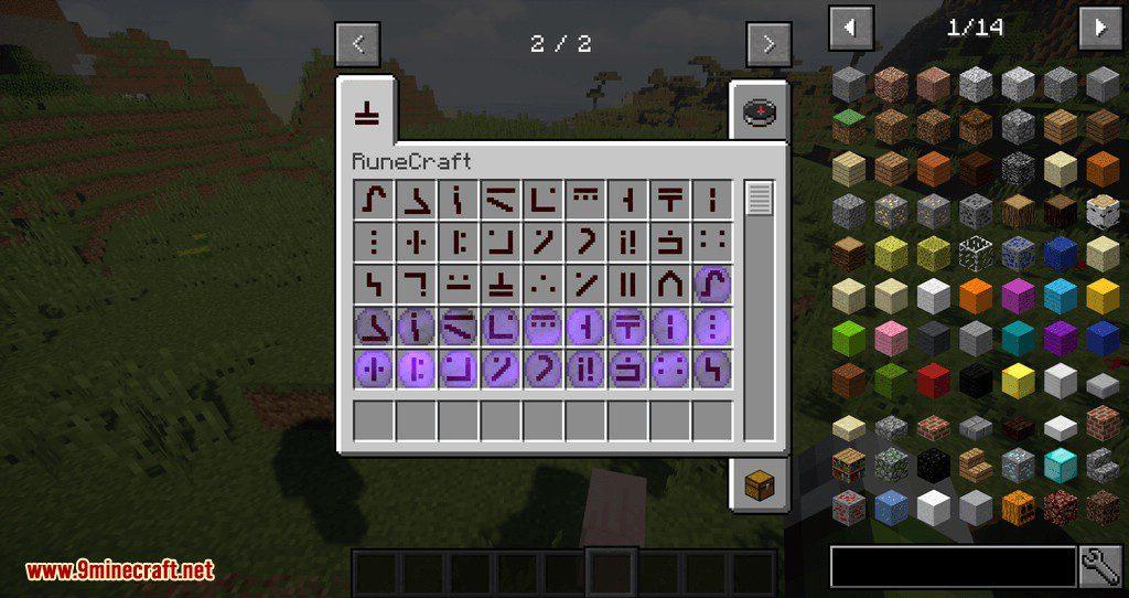 Rune Craft mod for minecraft 01