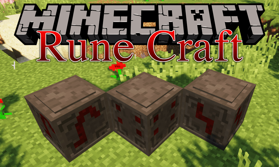 Rune Craft mod for minecraft logo