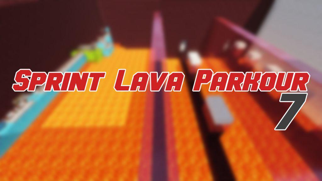 Sprint Lava Parkour 7 Map Thumbnail