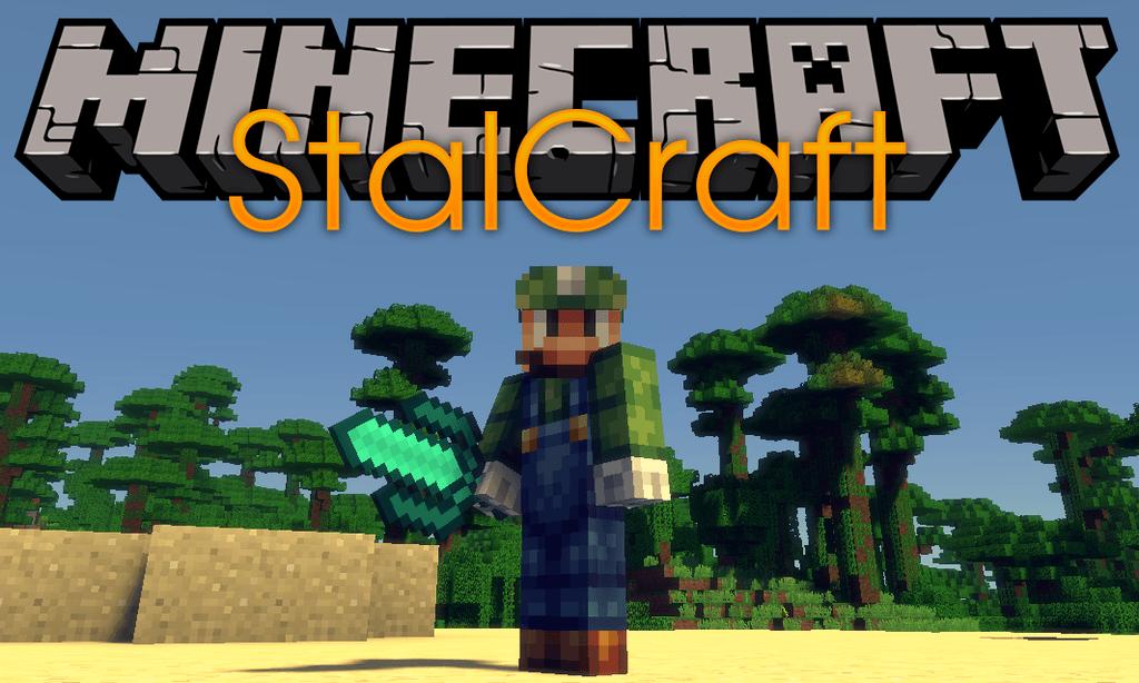 StalCraft mod foor minecraft logo