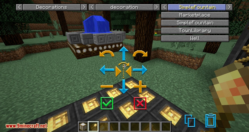 Structurize mod for minecraft 02