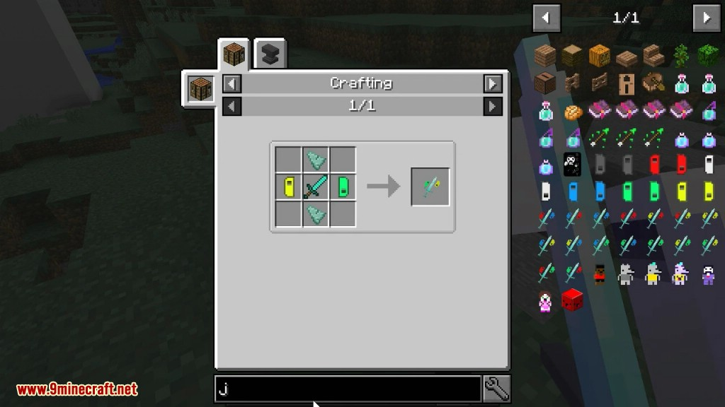 The Offhanded Gamers Mod Crafting Recipes 13