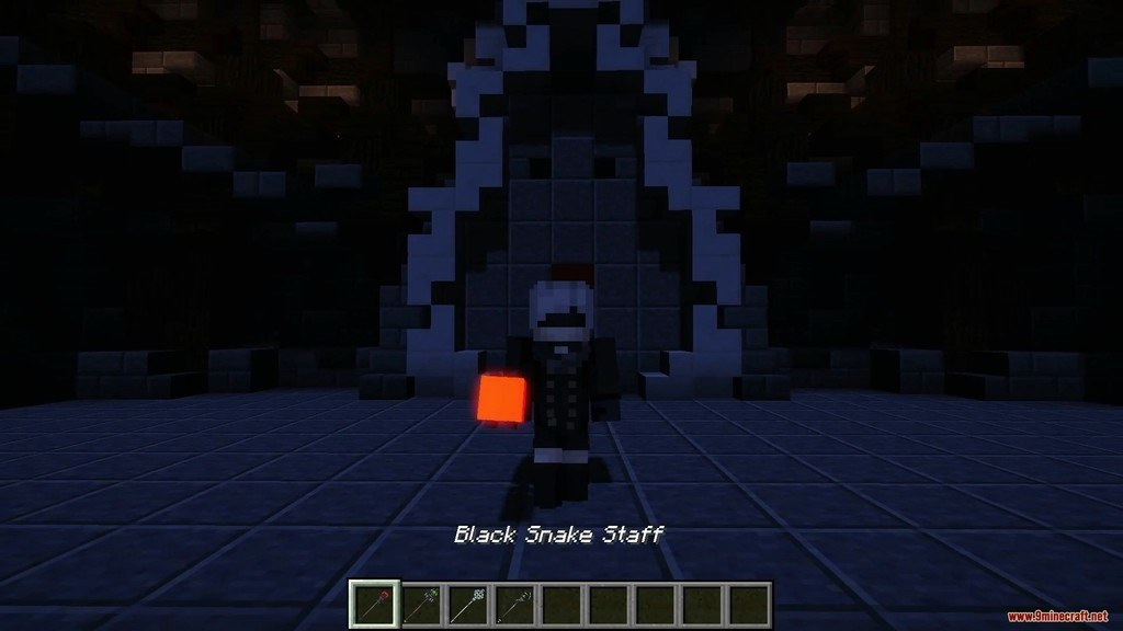 Transform Bows to Staves Resource Pack Screenshots 5