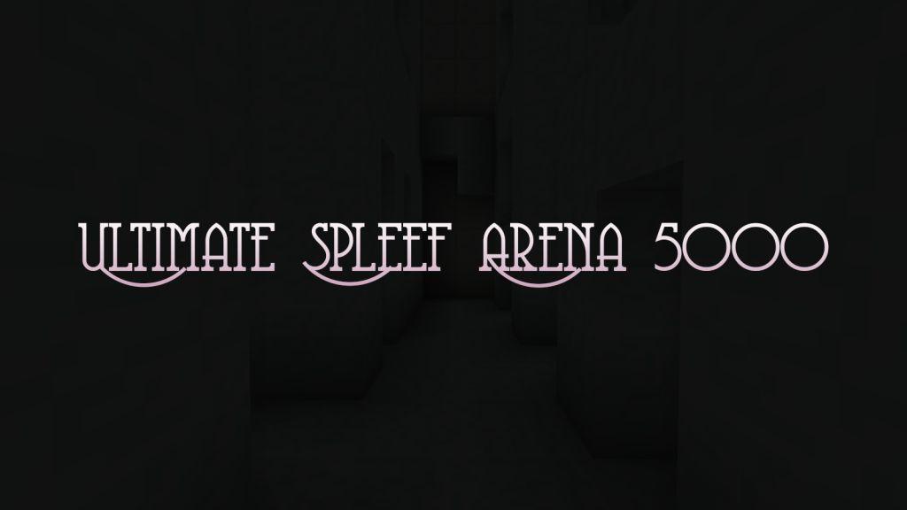 Ultimate Spleef Arena 5000 Map Thumbnail