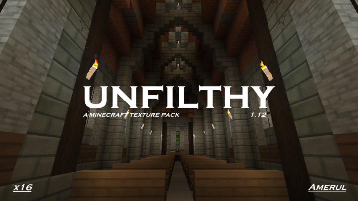 unfilthy Resource pack