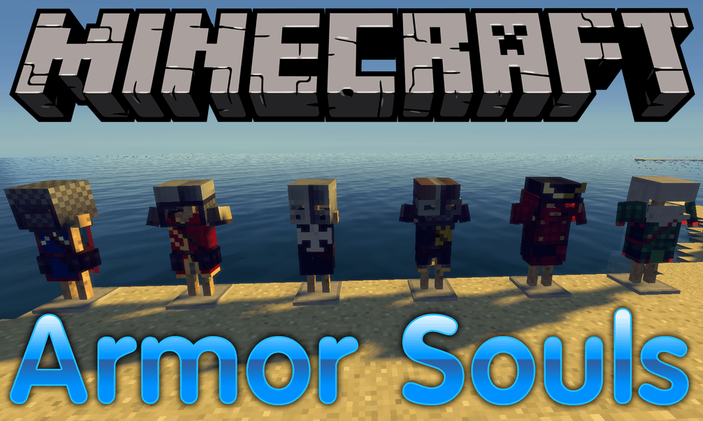 Armor Souls mod for minecraft logo