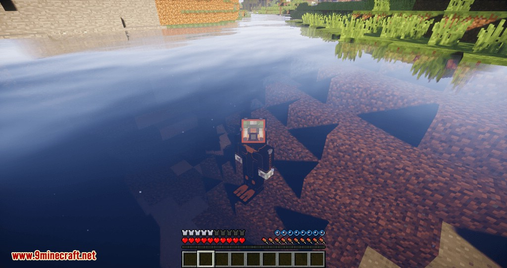 Better Diving mod for minecraft 02