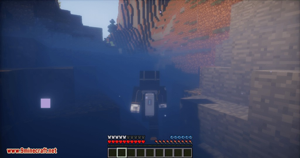 Better Diving mod for minecraft 03