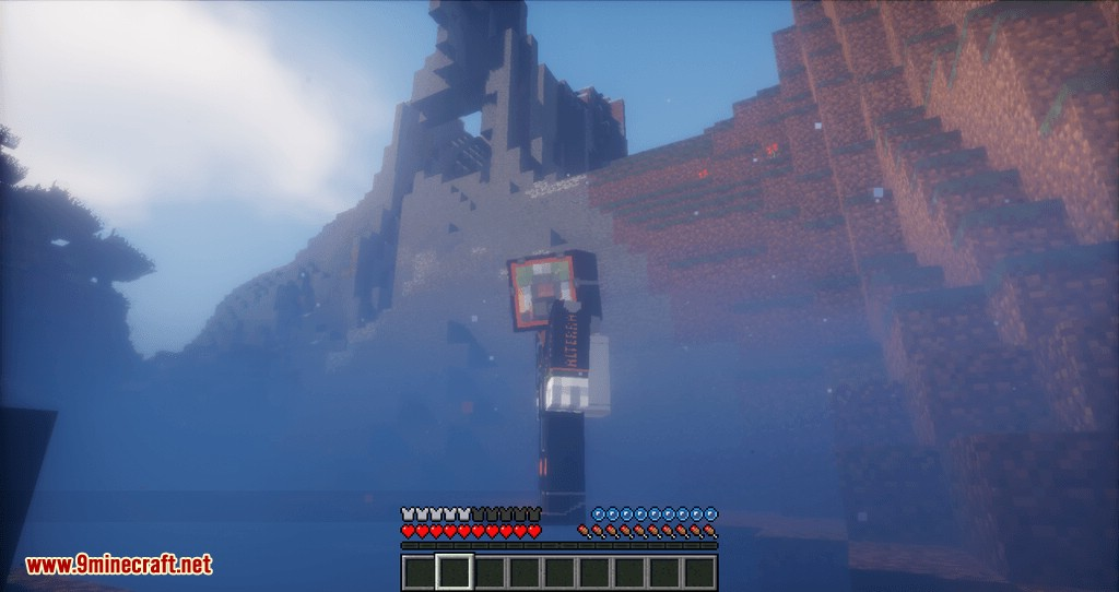 Better Diving mod for minecraft 05