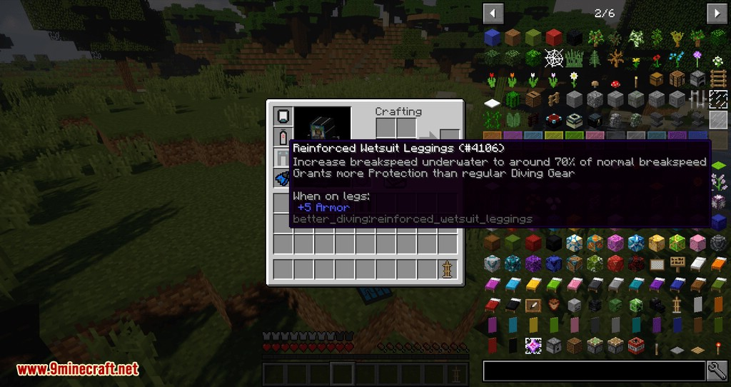 Better Diving mod for minecraft 10