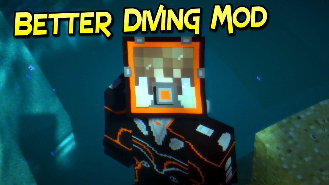 Better Diving Mod for Minecraft Logo