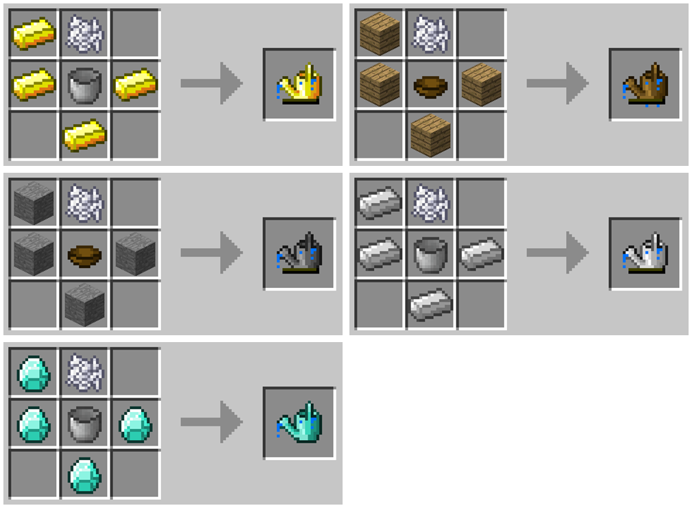 CT Watercan mod for minecraft 12