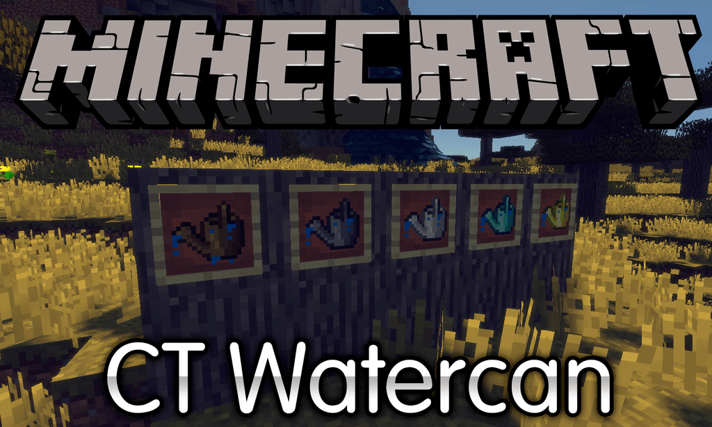CT Watercan mod for minecraft logo