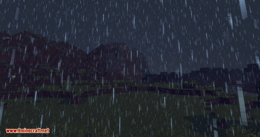 Collecting Rain mod for minecraft 02