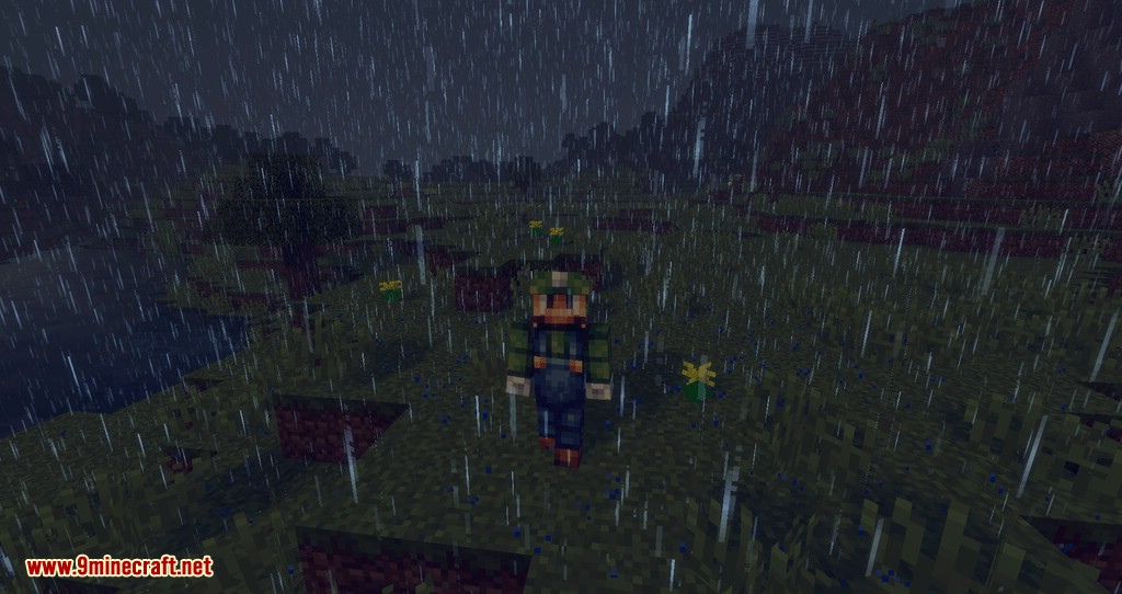Collecting Rain mod for minecraft 03