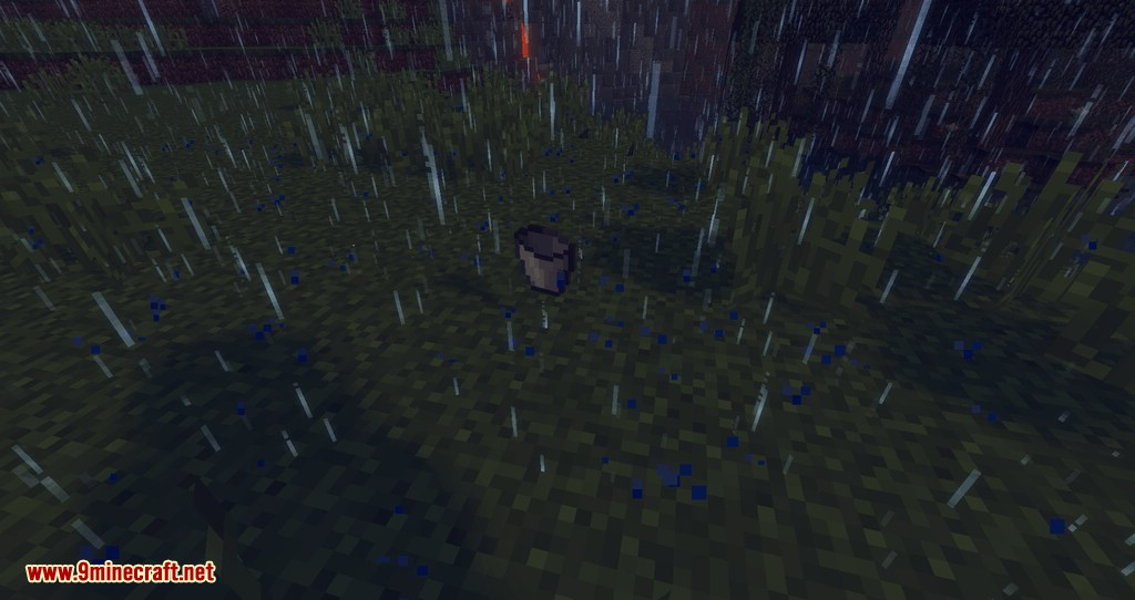 Collecting Rain mod for minecraft 04
