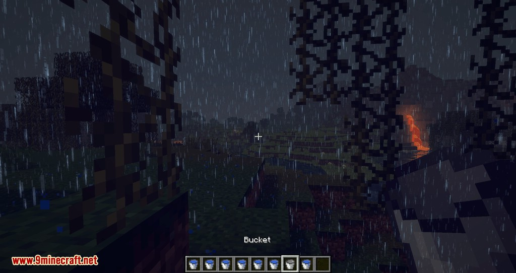 Collecting Rain mod for minecraft 09
