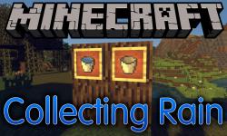 Collecting Rain mod for minecraft logo