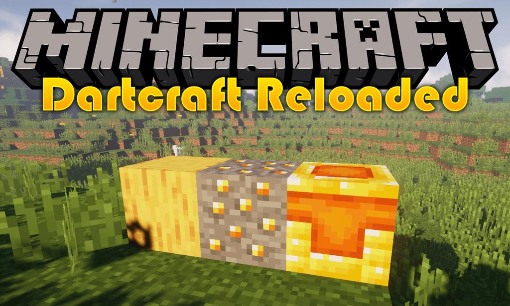 Dartcraft Reloaded mod for minecraft logo