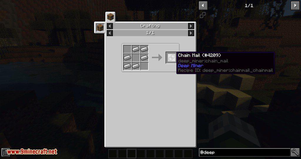 Deep Miner mod for minecraft 01