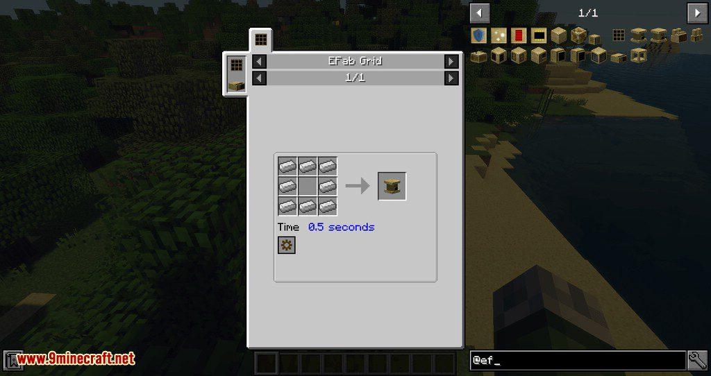 EFab mod for minecraft 02