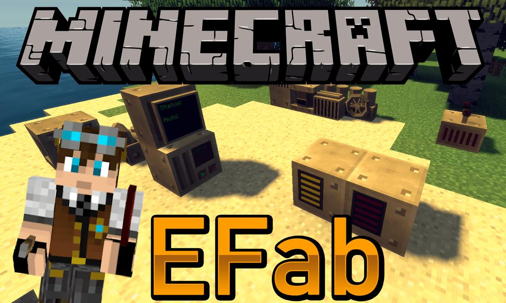 EFab mod for minecraft logo