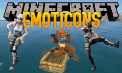 Emoticons mod for minecraft logo