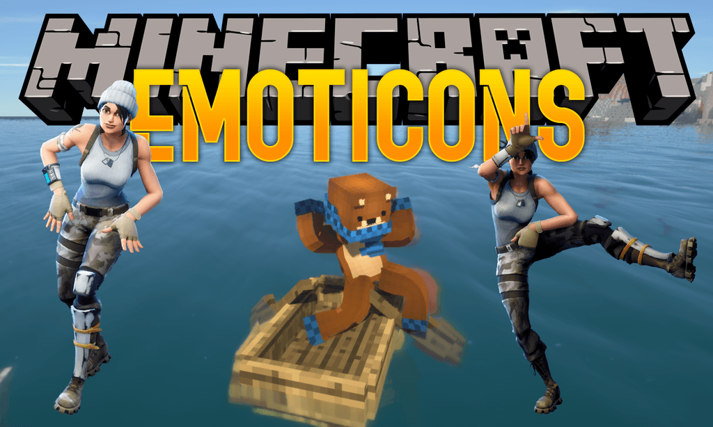 Emoticons Mod 1122 Fortnite Dances In Minecraft