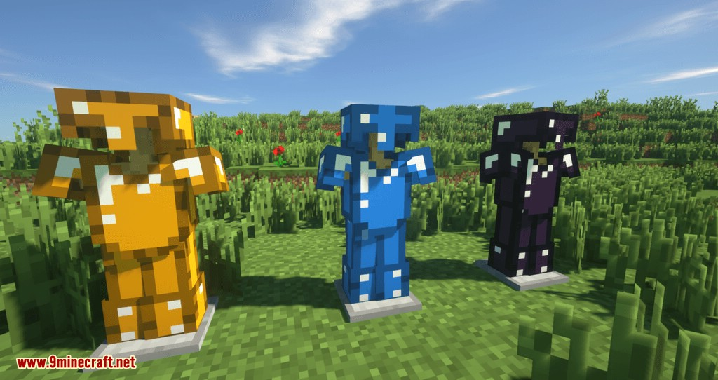 Extended Items and Ores Mod for minecraft 01