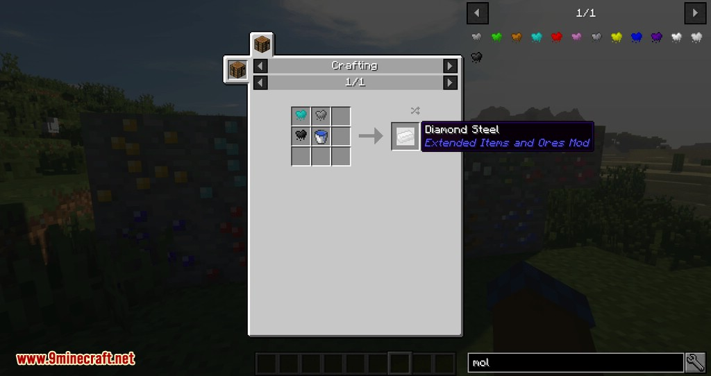 Extended Items and Ores Mod for minecraft 05