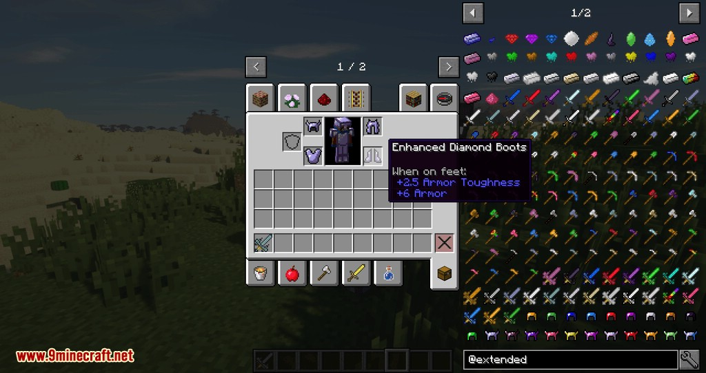 Extended Items and Ores Mod for minecraft 07