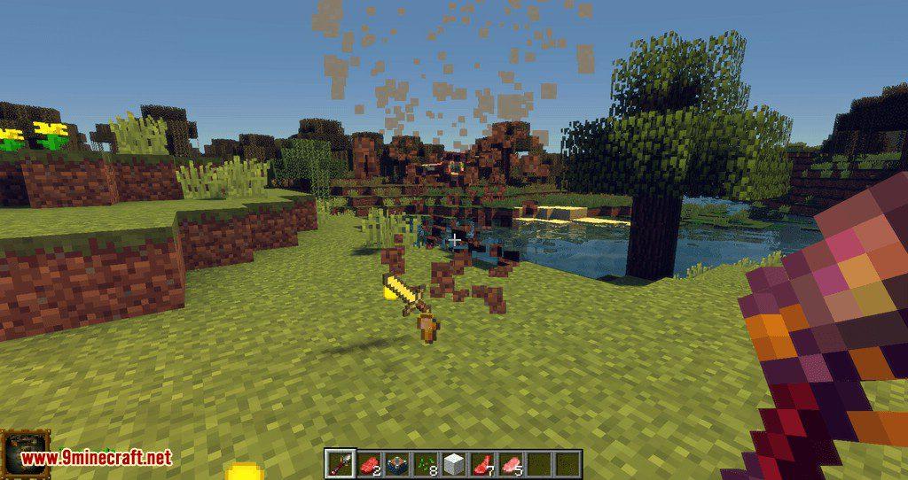 Extra Spells mod for minecraft 04