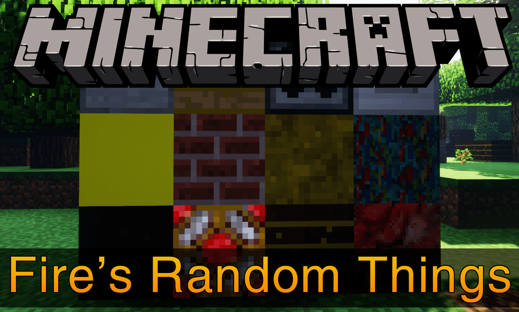 Fire_s Random Things mod for minecraft logo