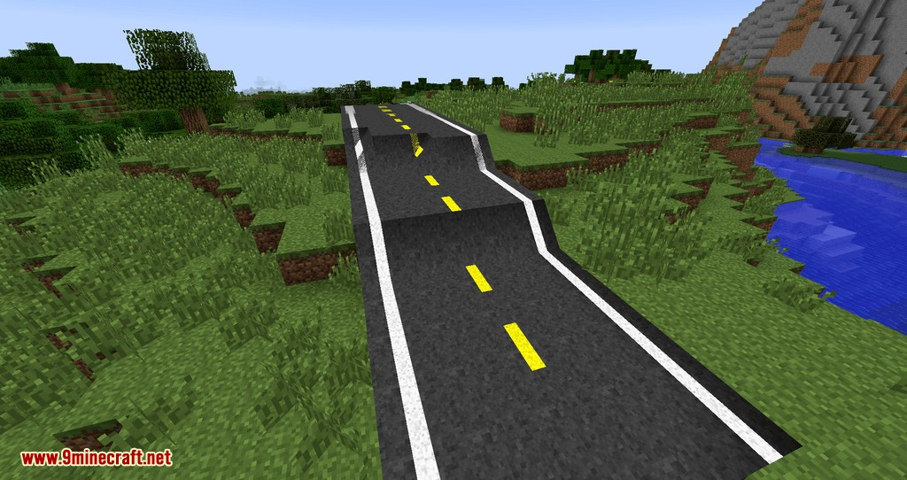 Flenix Roads mod for minecraft 03