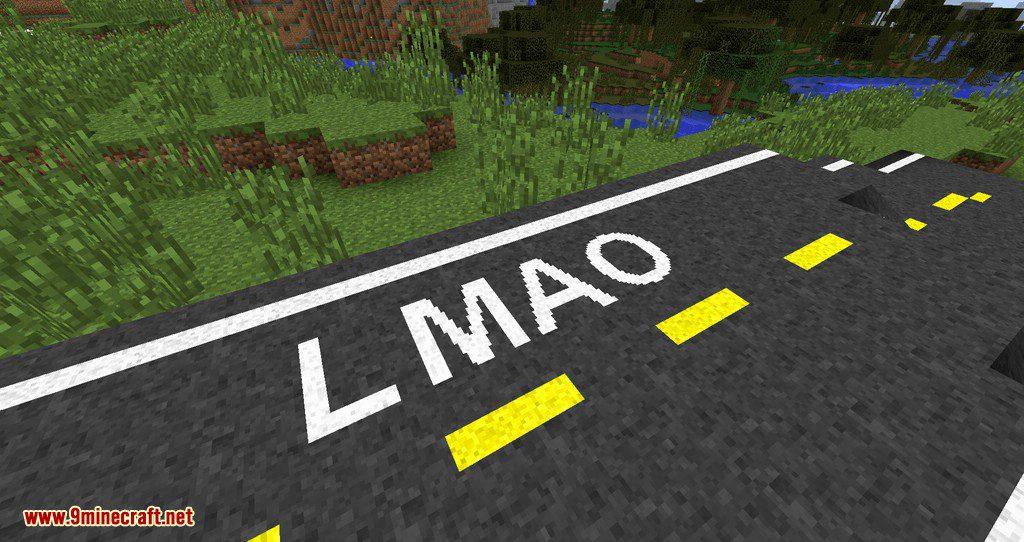 Flenix Roads mod for minecraft 08