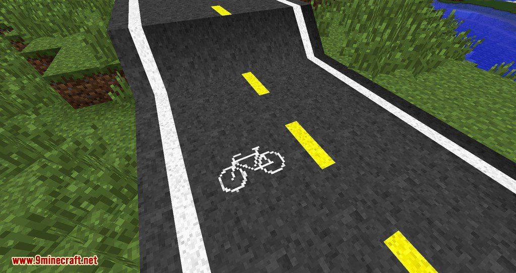 Flenix Roads mod for minecraft 09