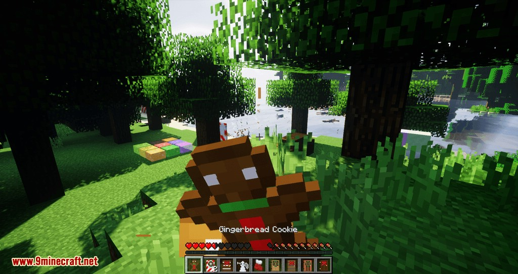 Gingerbread mod for minecraft 09