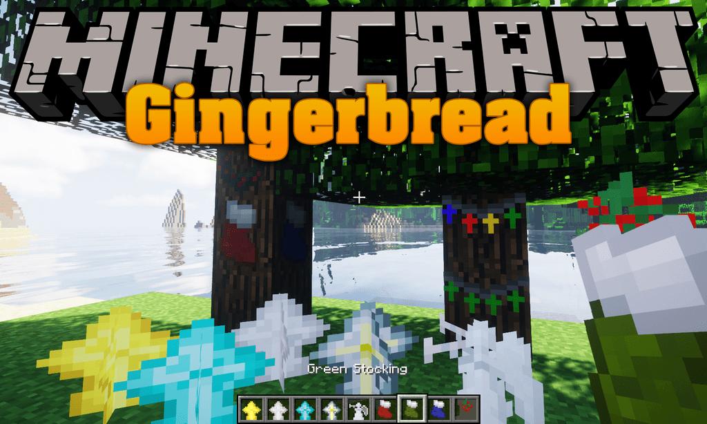 Gingerbread mod for minecraft logo